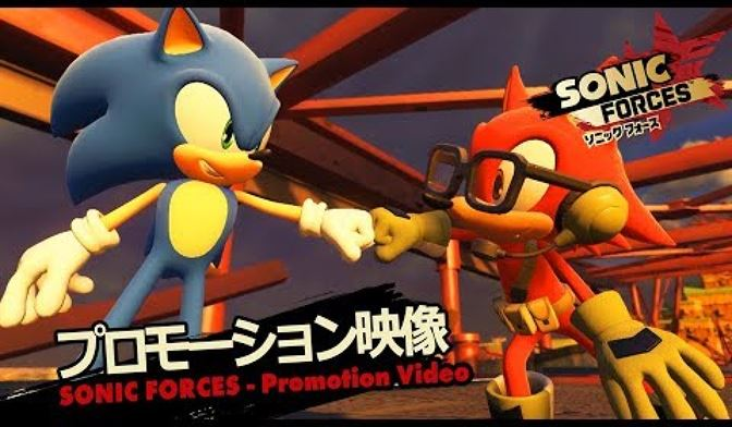 Sonic Forces promotional video